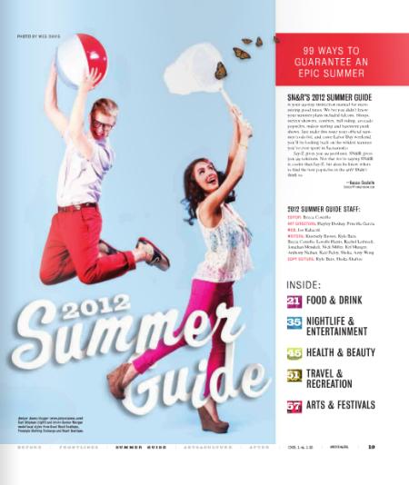 2012 Summer Guide