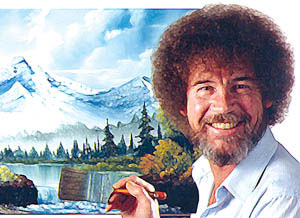 It's time to let your inner Bob Ross shine.