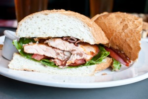 Salmon BLT at INK Eats & Drinks. Photo: Lovelle Harris